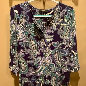 Nine West Top! Great Style! Size Large!